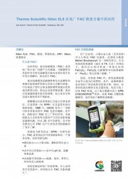 XL5 在电厂 FAC 检查方案中的应用