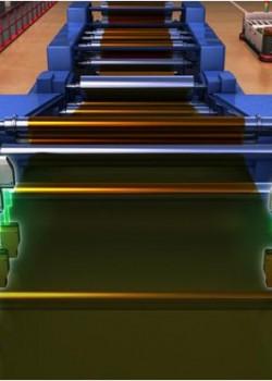 网片材料的拱曲测量