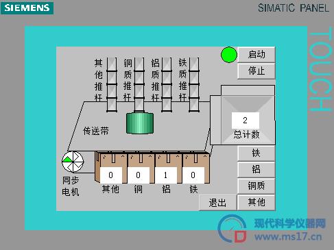基于s7-300物料分拣控制系统设计及仿真