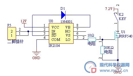 电路 电路图 电子 原理图 463_266